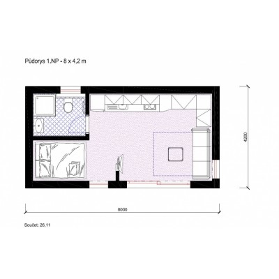 Modulares Haus - studio-apartment