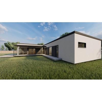 Modulare Haus-5 Zimmer