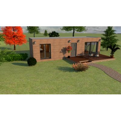 Modulares Haus 2-Zimmer
